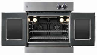 Click here to see with Oven Doors Opened