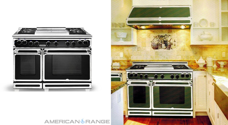 American Range Customizable Residential Ranges