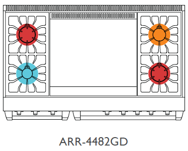 Top View of ARR-4482GD